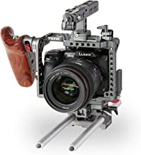 Camera Cage for Panasonic GH Series, Wooden Handle 2.0 None
