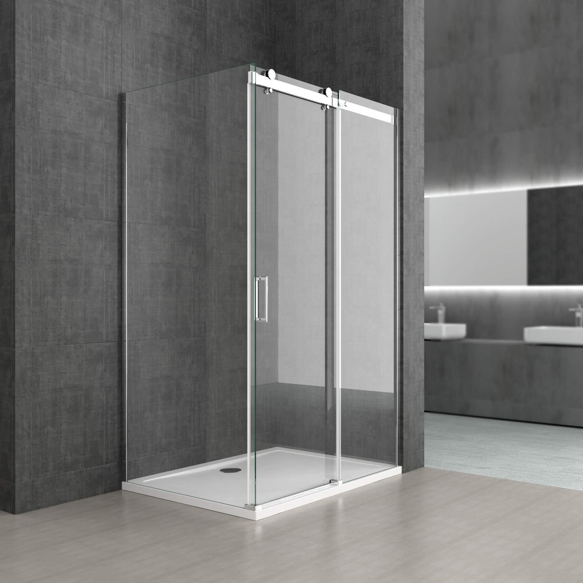 Sogood: Cabina de ducha diseño Ravenna17, 70x100x195cm, mampara de ...