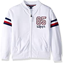 Tommy Hilfiger Girls' Fleece Varsity Jacket