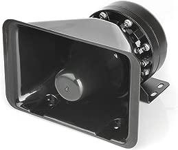 LUMAX Car Truck DC 12V 100 Watt Exterior Power Loud Speaker for Siren or Alarm