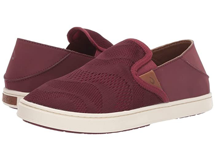 Pehuea  Shoes (Red Ginger/Rose Wood) Women's Slip on  Shoes