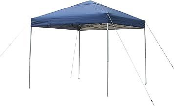 FieldLife タープテント250 ST250 スチールフレーム ワンタッチテント 日除け キャンプ バーベキュー コンパクト イベント 収納バッグ 2.5m UV加工 耐水生地 遮熱