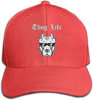Thug Life Pitbull Men Baseball Hat Trucker Hat Dad Cap Plain Cap