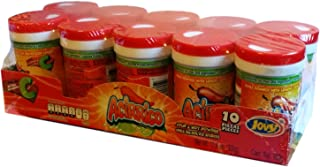Jovy Acirrico Sour and Hot Chilli Powder with Salt and Lemon | Novelty Candy 10 pieces