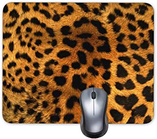 Progrian Animal Print Leopard Custom Mouse Pad Office Mouse Mat Keyboard Pad Waterproof Material Non-slip Personalized Mouse pad