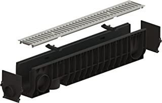 Standartpark - 4 inch trench drain steel grate package 8