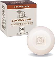 Soapbox Coconut Oil Shampoo Bar, Eco Friendly Solid Bar Shampoo for Hair | Vegan, Sulfate Free, Paraben Free, Cruelty Free...
