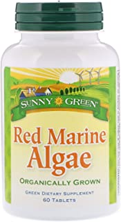 Sunny Green Red Marine Algae 375 Mg, 60 Count