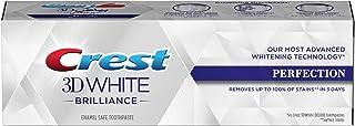 Crest 3D White Brilliance Perfection, Enamel Safe Toothpaste, 75 ml