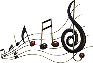 Dеcо 79 Home Decor Metal Wall Music Notes Musical Sound Bar