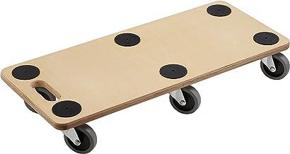Metafranc transportstep, multiplex, meubelroller, transporthulp voor verhuizing, rolwagen voor meubeltransport, houten kis...