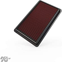 K&N engine air filter, washable and reusable: 2010-2013 Acura V6 3.7L (ZDX, MDX) 33-2454