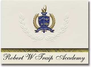 "Signature Announcements""Robert W Traip Academy (Kittery, ME)"" - 6.25"" x 11.44"" - Cream - PAC_BASICPres_HS25_112706_206044"