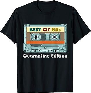 Retro Best Of 80s Vintage Cassette Tape Quarantine Edition T-Shirt