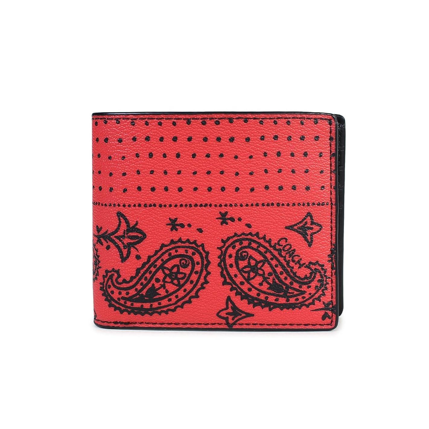 引き潮シチリア開発するコーチ 財布 二つ折り メンズ F57653 (並行輸入品)