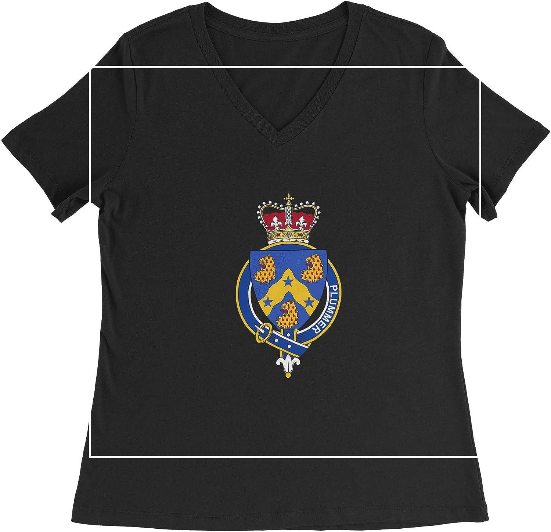 HARD EDGE DESIGN Women's English Garter Family Plummer T-Shirt