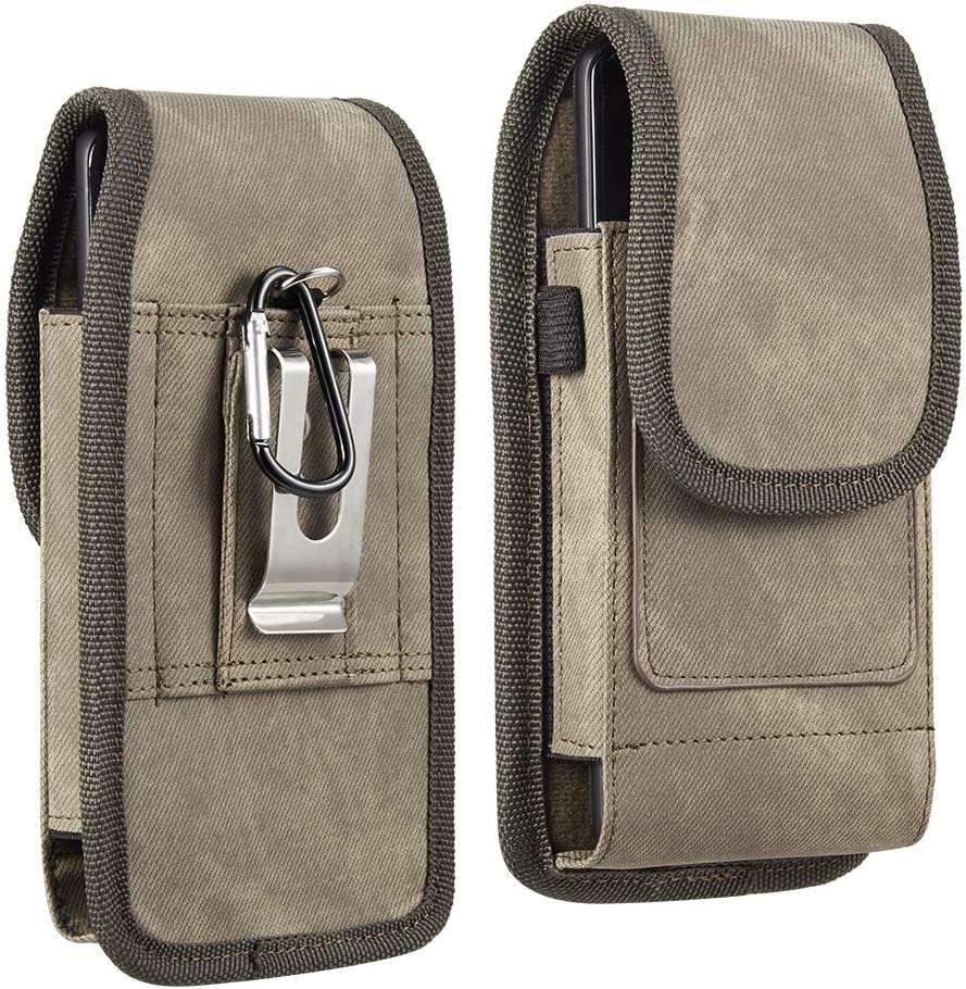 Cell Phone Holster Pouch for Samsung Galaxy Z Flip3 5G, A12 Nacho, M21 2021, F22, M32, A22 5G, A22, F52 5G, M42 5G, M12, Quantum 2, F12, F02s, A72