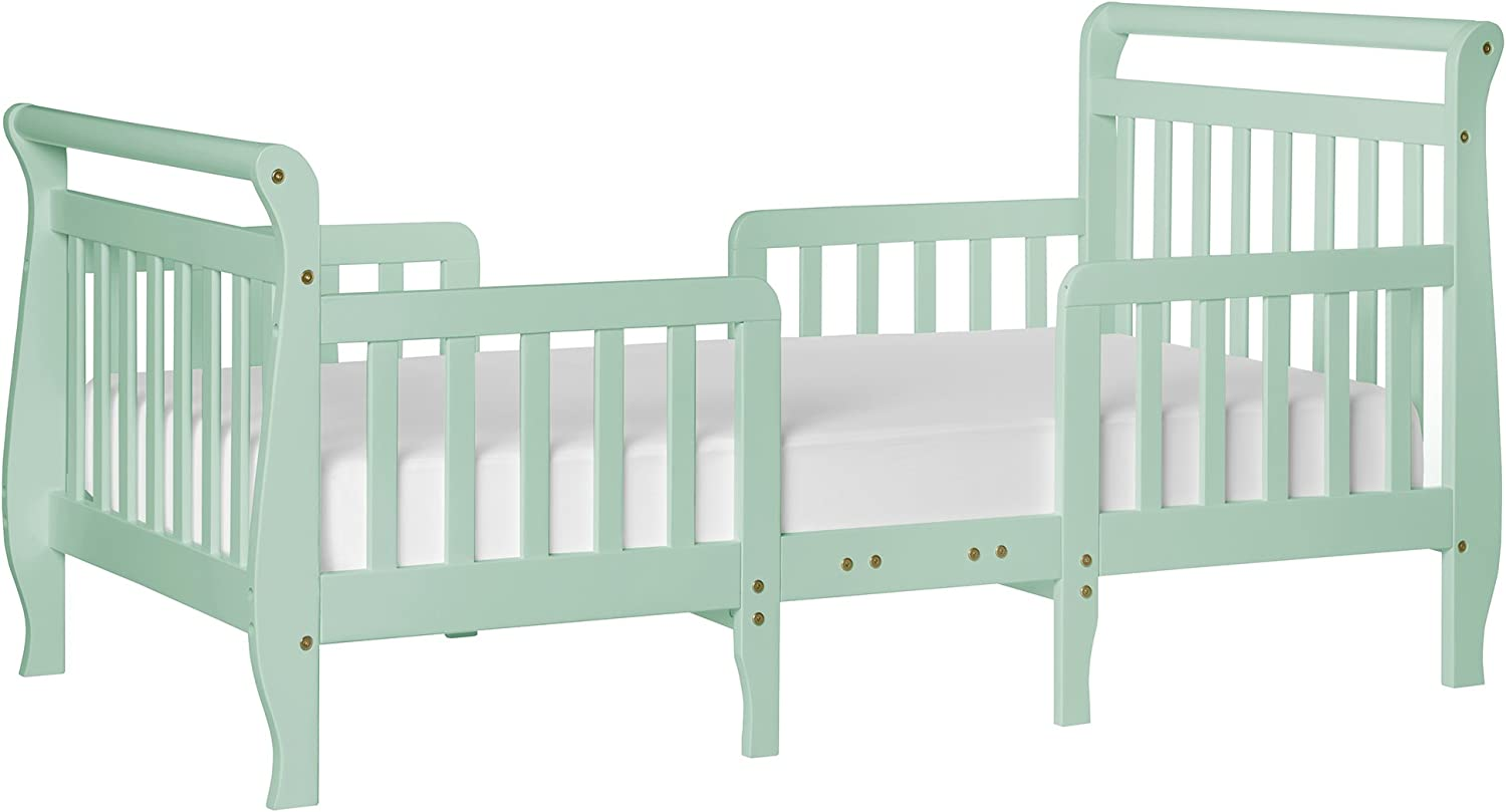 Dream On Me Emma 3-In-1 Congreenible Toddler Bed, Mint