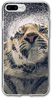 Slow-Motion-Wallpaper-Big-Tiger Resistant Cover Case Compatible iPhone 7 Plus iPhone 6 Plus 5.5IN