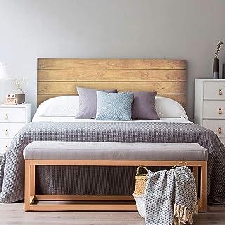 setecientosgramos Cabecero Cama PVC | Wood II | Varias Medidas | Fácil colocación | Decoración Dormitorio (150x60cm)
