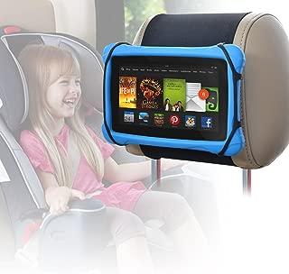 Car Headrest Holder WANPOOL Car Headrest Mount Silicon Holder for 7-10 Inch Fire Tablets