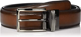 Perry Ellis Men's Portfolio Double Stitched Reversible Belt