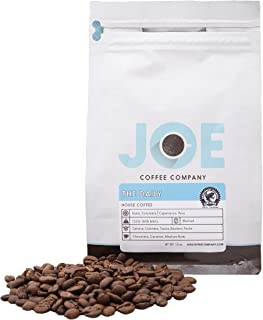 Joe Coffee 'The Daily' Blend, RFA Certified Whole Beans from Colombia & Peru, 12 oz Bag, Small-Batch Specialty Roaster in NYC, Perfect for Drip, Frenc