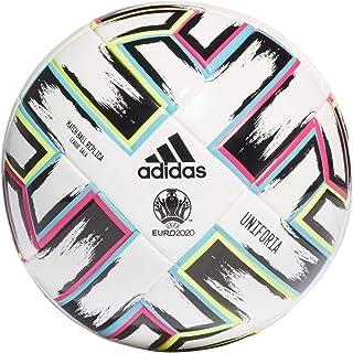 adidas Uniforia League Sala, Balón, White-Black-Signal Green-Bright Cyan