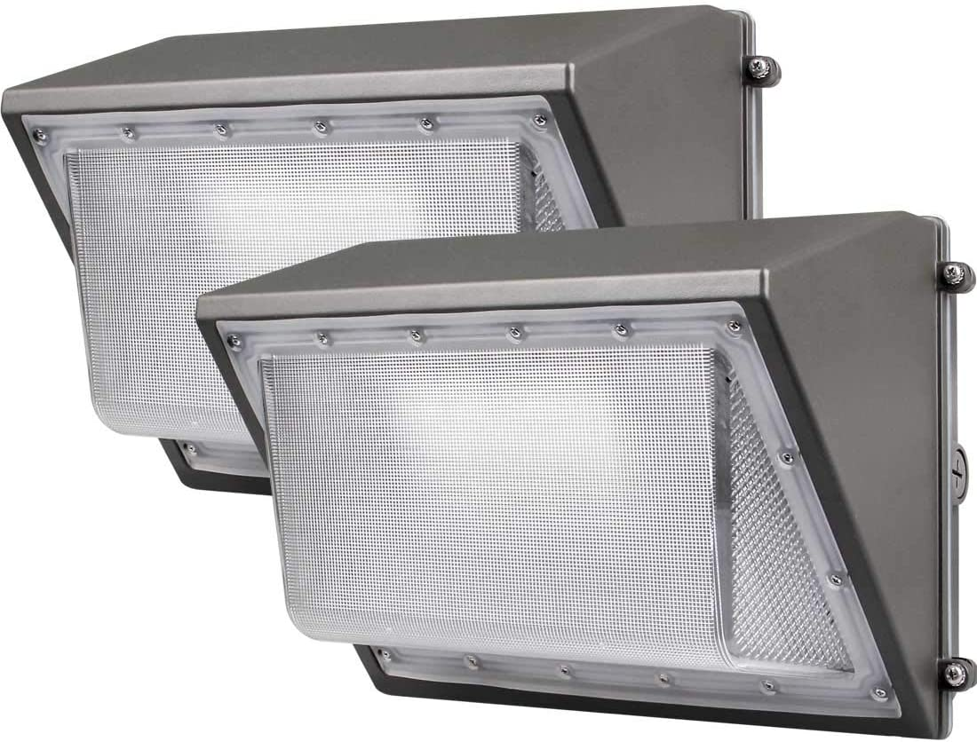 2 Pack Dakason LED Wall 60W Store with Dusk-to-Dawn Photocell Omaha Mall