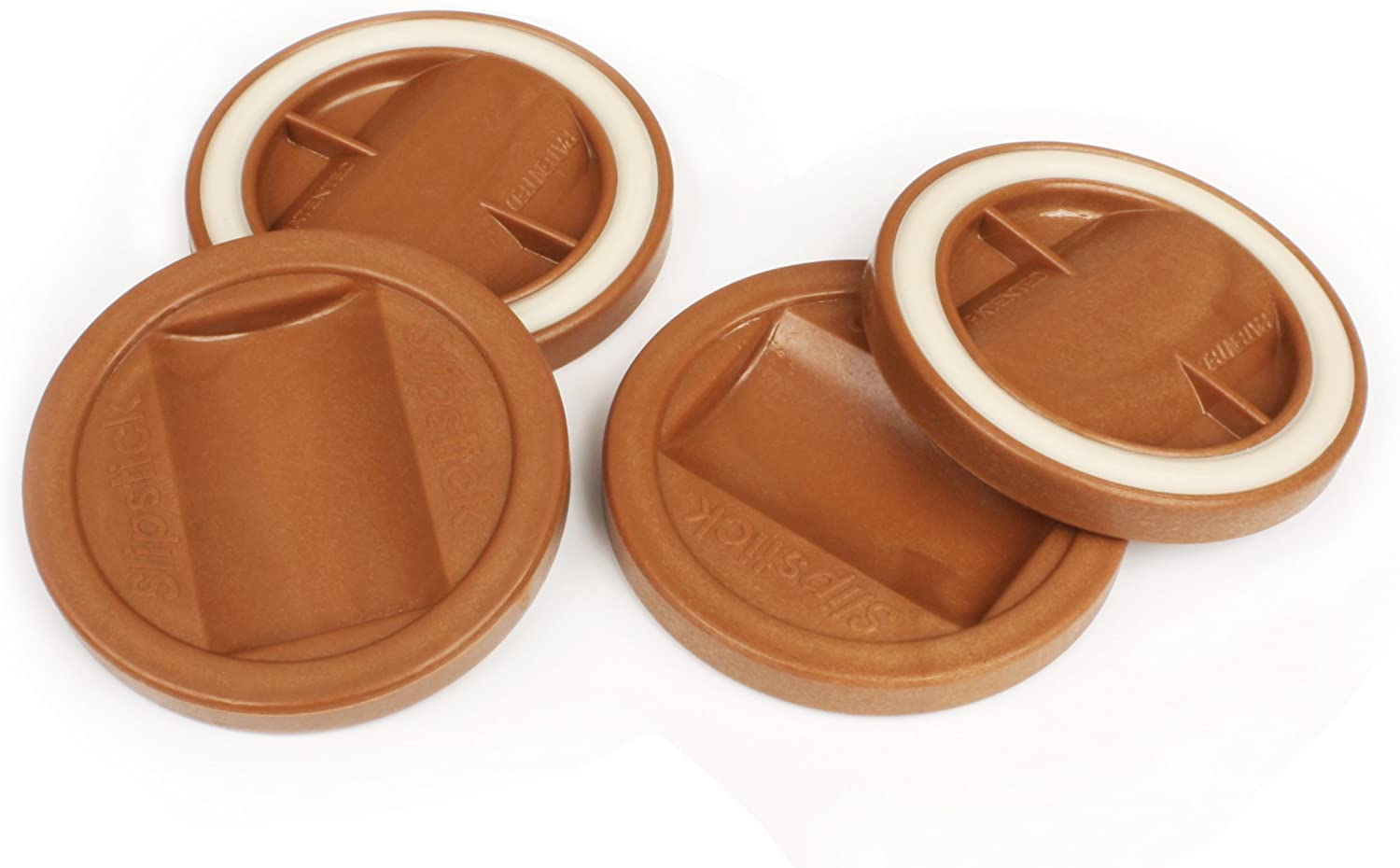 Bed Roller Chocolate Set of 4