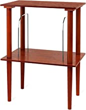 Victrola Wooden Stand for Wooden Music Centers with Record Holder Shelf, Mahogany