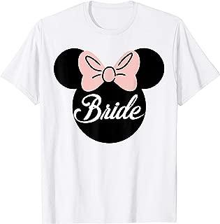 Bridal Minnie Bride Silhouette T-Shirt