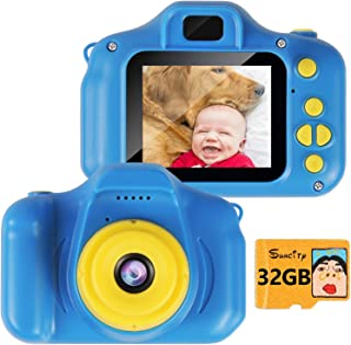 SUNCITY Boy Gifts Toys Kids Digital Camera Age 3 4 5 6 7 8 Birthday Christmas Holiday Present Video Camera Rechargeable 2....