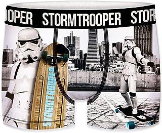 FREEGUN Stormtrooper Set de 5 Boxers en Talla Infantil, 100% algodón para Niños