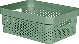 CURVER | Bac Infinity 11L , Vert, 35,6 x 26,6 x 13,6 cm, Plastique recyclé