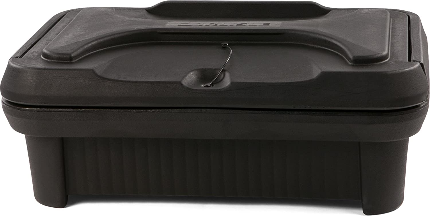 Carlisle XT140003 Cateraide Insulated Food Pan Carrier, Top Loading, 4 , Black