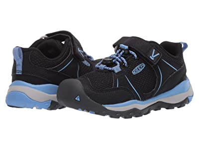Keen Kids Terradora II Sport (Toddler/Little Kid) (Black/Della Blue) Girl