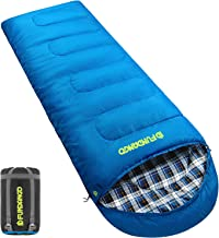 FUNDANGO Warm Comfy 8°F/17°F/26°F/39°F Waterproof Sleeping Bags for Adults Women Men Youth Kids Toddler Girls Boys, Great for Camping Hiking Backpacking Travel