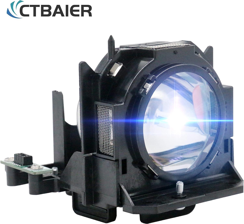 CTBAIER ET-LAD60 ET-LAD60AW ET-LAD60A ET-LAD60W Quality Projector Lamp for Panasonic PT-D5000 PT-D6000 PT-D6710 PT-DW6300 PT-DZ6700 PT-D6000ES PT-D6000LS PT-D6000ELS with Housing