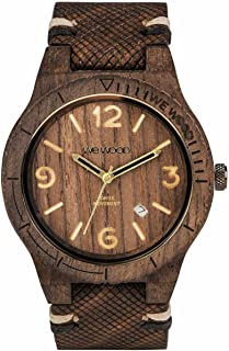 Alpha Swiss Rough Indian Rosewood Watch | Chocolate