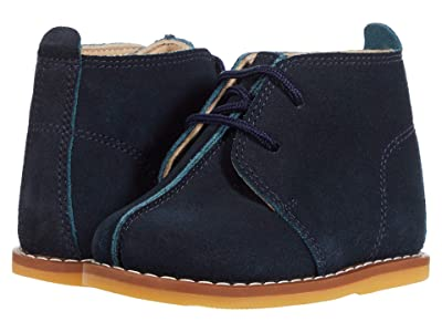 Elephantito Bootie w/ Laces (Toddler) (Blue) Kid