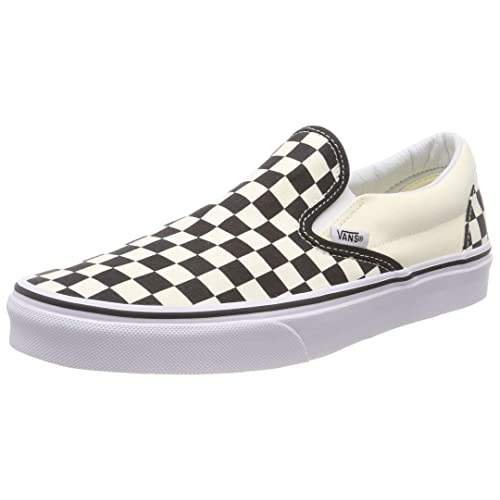 1672dcb3b2 Vans Unisex Adults  Classic Slip-on Checkerboard Trainers