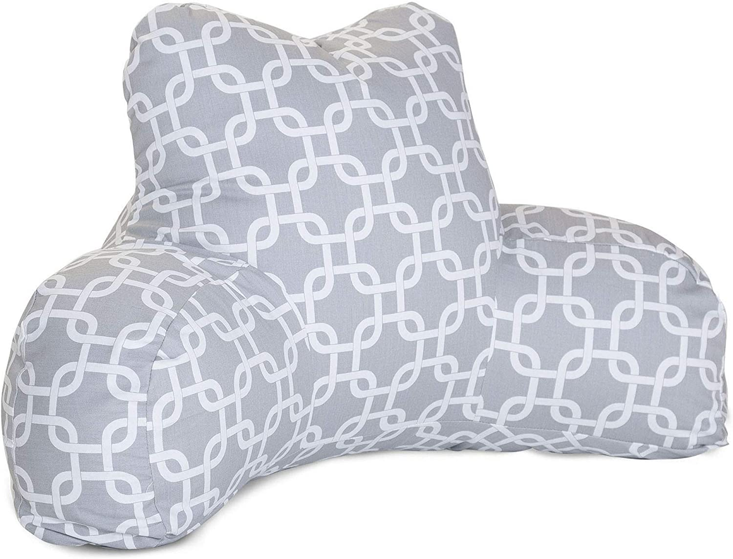 Majestic Home Goods Links Reading Pillow Gray