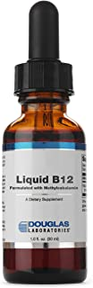 Douglas Laboratories - Liquid B12 (Formulated with Methylcobalamin) - Supports Neurological and Immune Health* - 1 fl. oz.