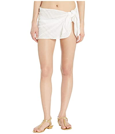 Robin Piccone Pareo with Ric Rac Trim Cover-Up (White) Women