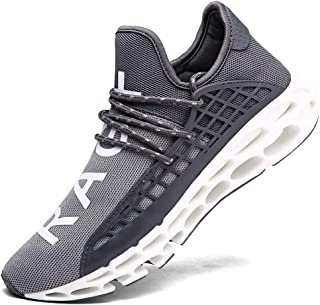 XIDISO Men Women Running Shoes Sneakers for Mens and Womens Fashion Casual Walking Shoes Outdoor Running Blade Sneakers