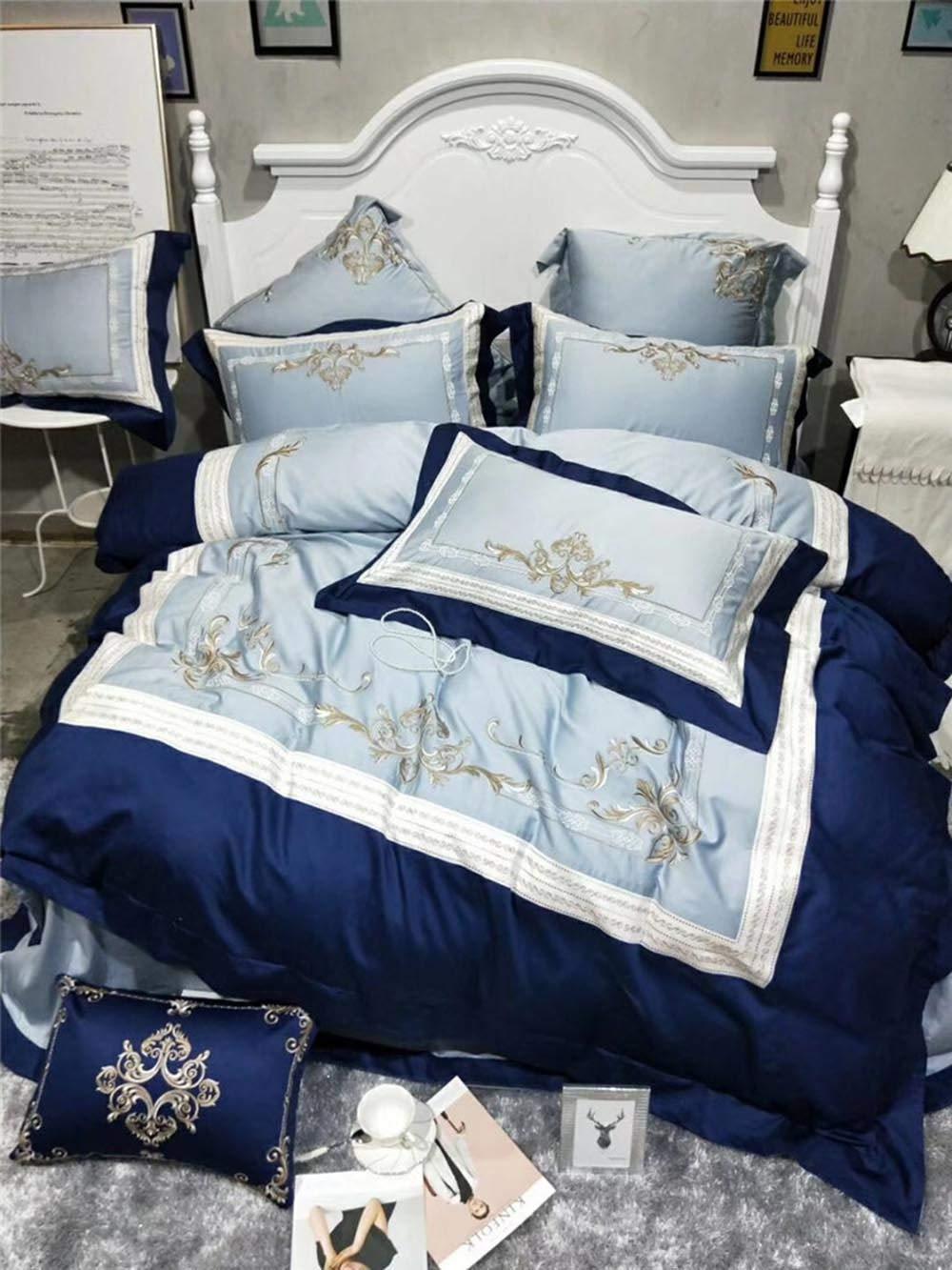 Wenhu Lujo 100% Juego de Cama de algodón Egipcio tamaño King Ropa ...