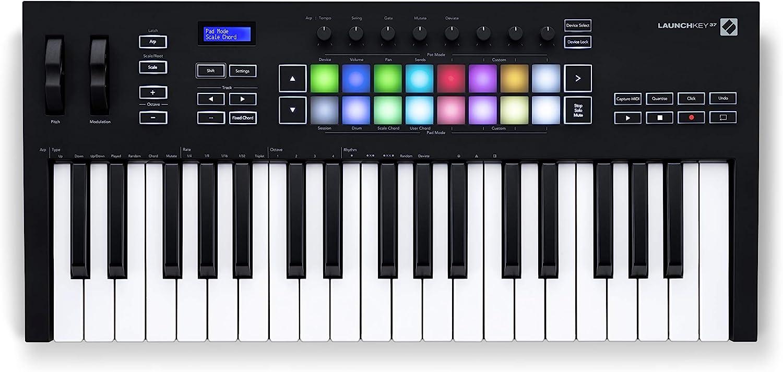 Novation Controlador de teclado MIDI Launchkey 25 [MK3]