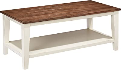 Lane Home Furnishings Cocktail Table, Greige/White