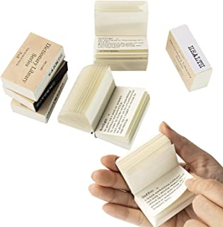 600 Pcs Vintage Tiny Dictionary Decorative Craft Papers Mini Dictionary for Scrapbooking and Decoupage (600 Pcs)
